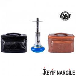 Mr. Eds Smoke E-23 Small King Çantalı Çelik Orta Boy Nargile Takımı