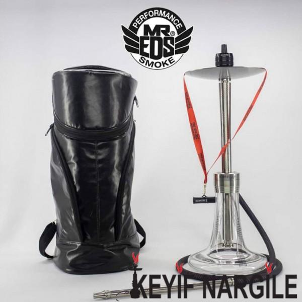 Mr Eds E25 Bodyguard Sırt Çantalı 404 Çelik Nargile Seti