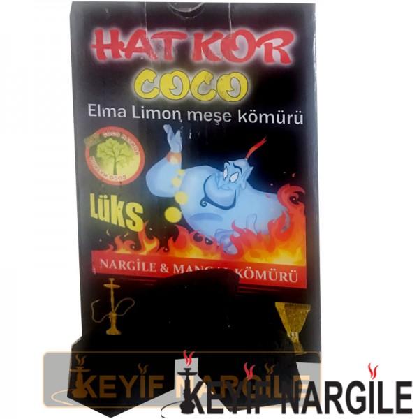 HatKor Coco Küp Elma Limon Meşe Nargile Kömürü 1 Kg