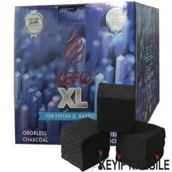 Kefo XL Hindistan Cevizi Küp Nargile Kömürü 1 Kg