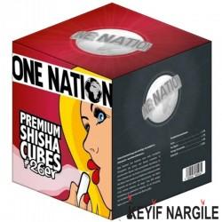 One Nation Premium Küp Nargile Kömürü 1 Kg