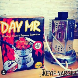 Day Mr Elektrikli Nargile Köz Yapma Makinesi