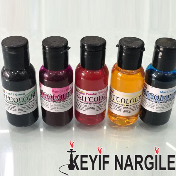 Shi Colour Nargile Suyu Renklendirici Sıvı