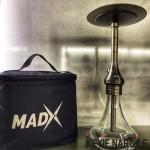 Madx Focus Taşınabilir Çantalı Masaüstü Nargile Takımı