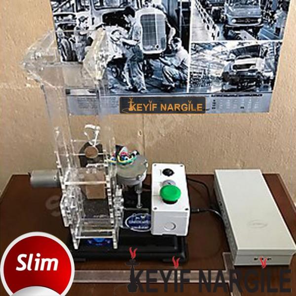 Fasfil Hazneli Otomatik Slim Tütün Dolum Makinesi