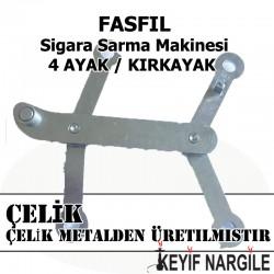 Fasfil Sigara Sarma Makinesi 4 Ayak Çelik