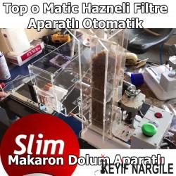 Topomatic Slim Hazneli Filtre Aparatlı Otomatik Sigara Sarma Makinesi