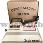 Cemo Matic Slim Kollu Tütün Dolum Makinesi