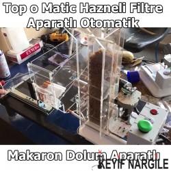 Topomatic Hazneli Filtre Aparatlı Otomatik Sigara Sarma Makinesi