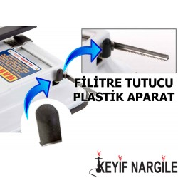 Topomatic Sigara Sarma Makinesi Plastik Filtre Tutacağı